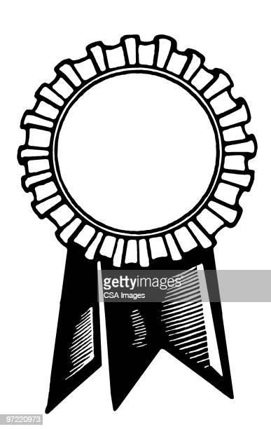 award ribbon - medal stock illustrations
