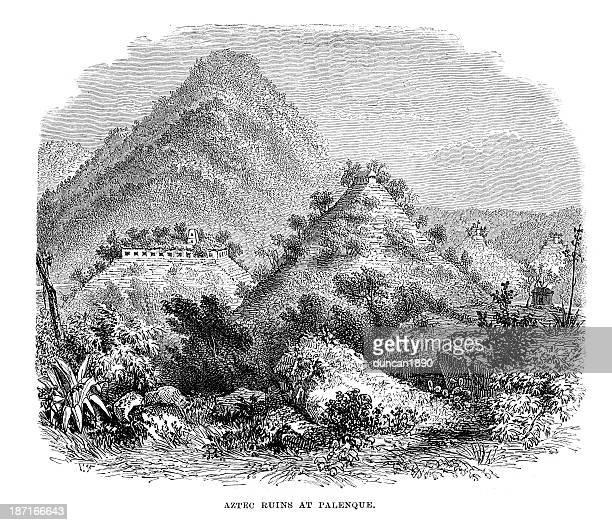 Aztec Ruins at Palenque