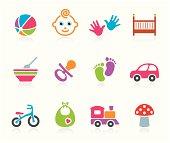 Babies icon - Boys