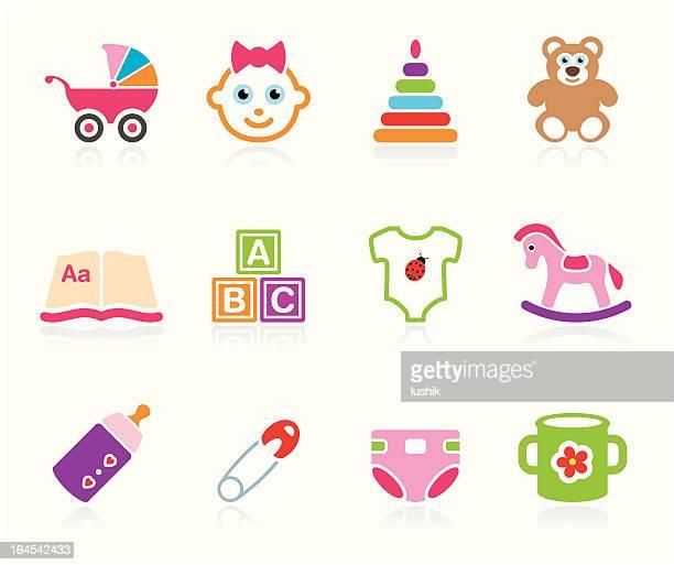 Babies icon - Girls