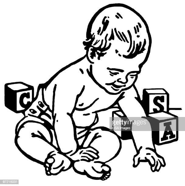 baby - baby stock illustrations
