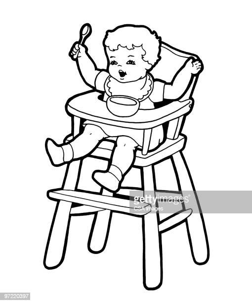 baby - toddler stock illustrations