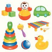 Baby-toy set