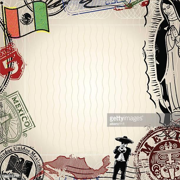 backgroundo de mexico - latin music stock illustrations, clip art, cartoons, & icons