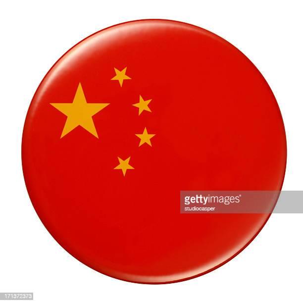 badge - chinese flag - national flag stock illustrations