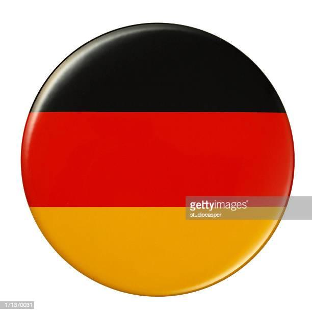 abzeichen-deutschland-flagge - deutsche flagge stock-grafiken, -clipart, -cartoons und -symbole