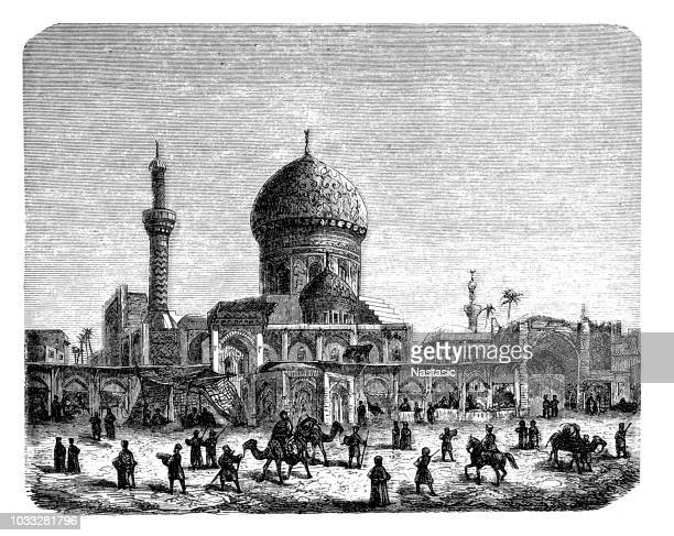 イラクの首都バグダッド - バグダッド点のイラスト素材/クリップアート素材/マンガ素材/アイコン素材