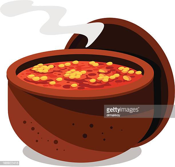 baked beans in bowl - baked beans stock illustrations, clip art, cartoons, & icons