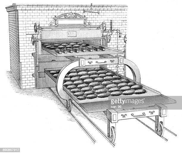 baking oven - baked stock illustrations, clip art, cartoons, & icons