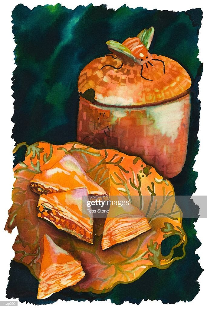 Baklava : stock illustration