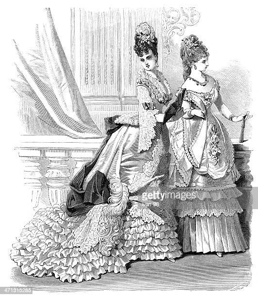 ball dress - en búsqueda stock illustrations