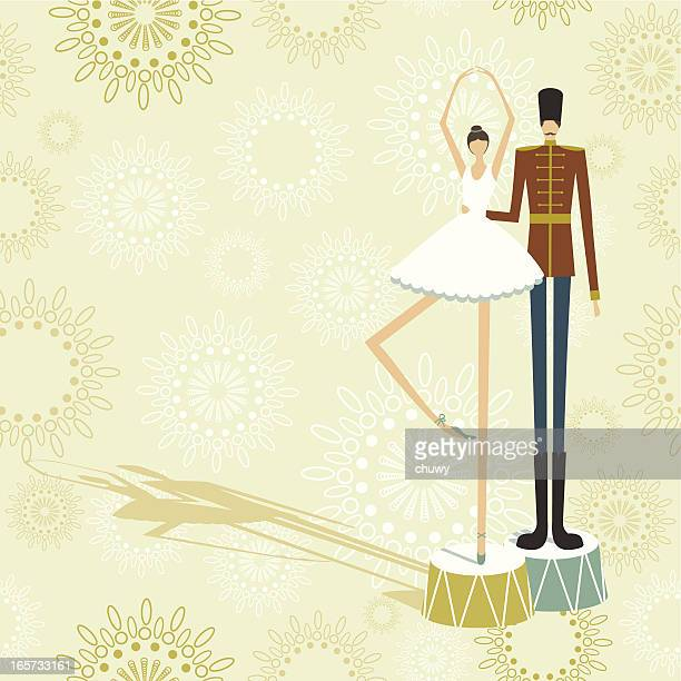 Ballerina and tin soldier