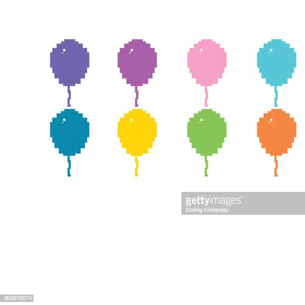 Balloons of different colours