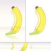 Banana Made of Glass