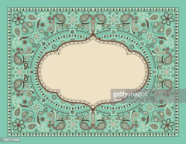 bandana pattern - bandana stock illustrations