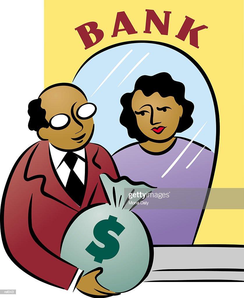 Banking : Ilustração de stock