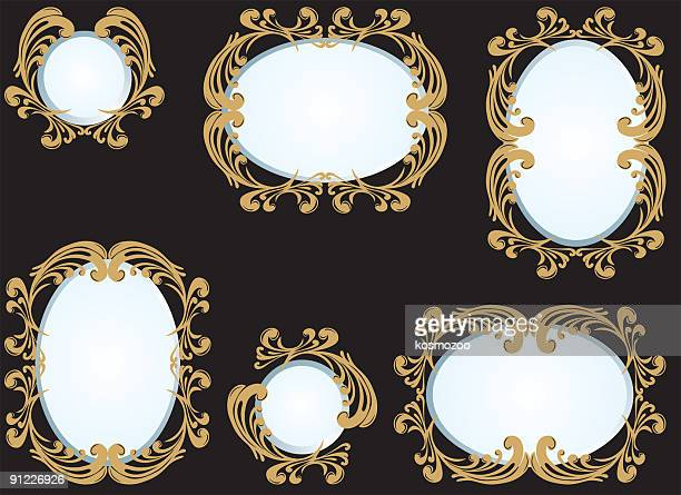 505 Ornate Mirror High Res Illustrations Getty Images