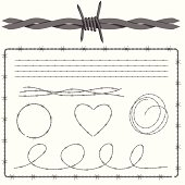 Barbed Wire Design Set
