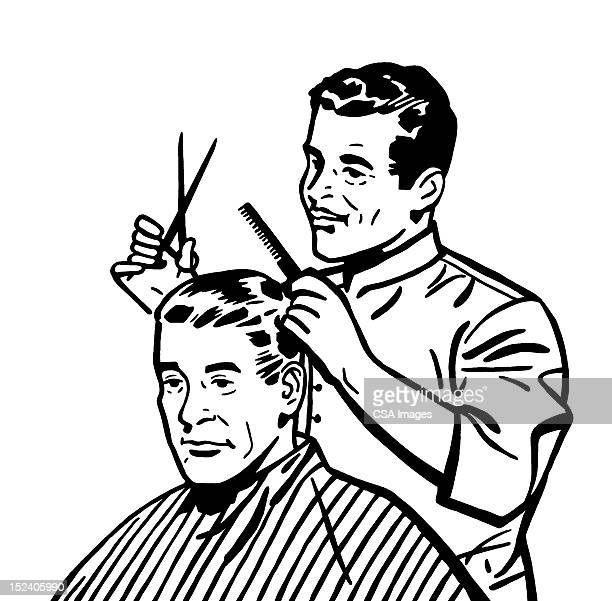 Barber Stock Illustrations And Cartoons | Getty Images