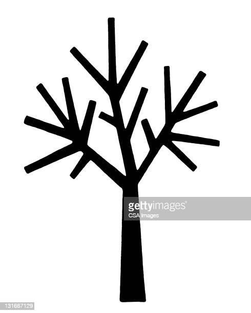 bare tree - branch stock illustrations