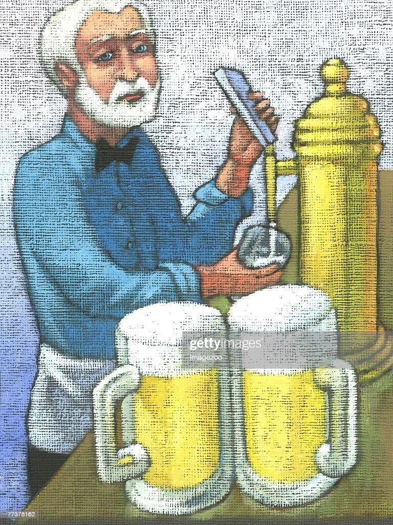 bartender : Illustration
