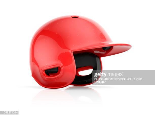 baseball helmet, illustration - スポーツヘルメット点のイラスト素材/クリップアート素材/マンガ素材/アイコン素材