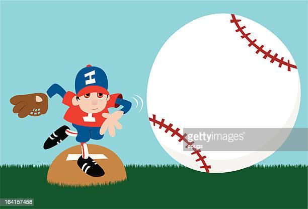 野球のピッチャーメッセージを発表