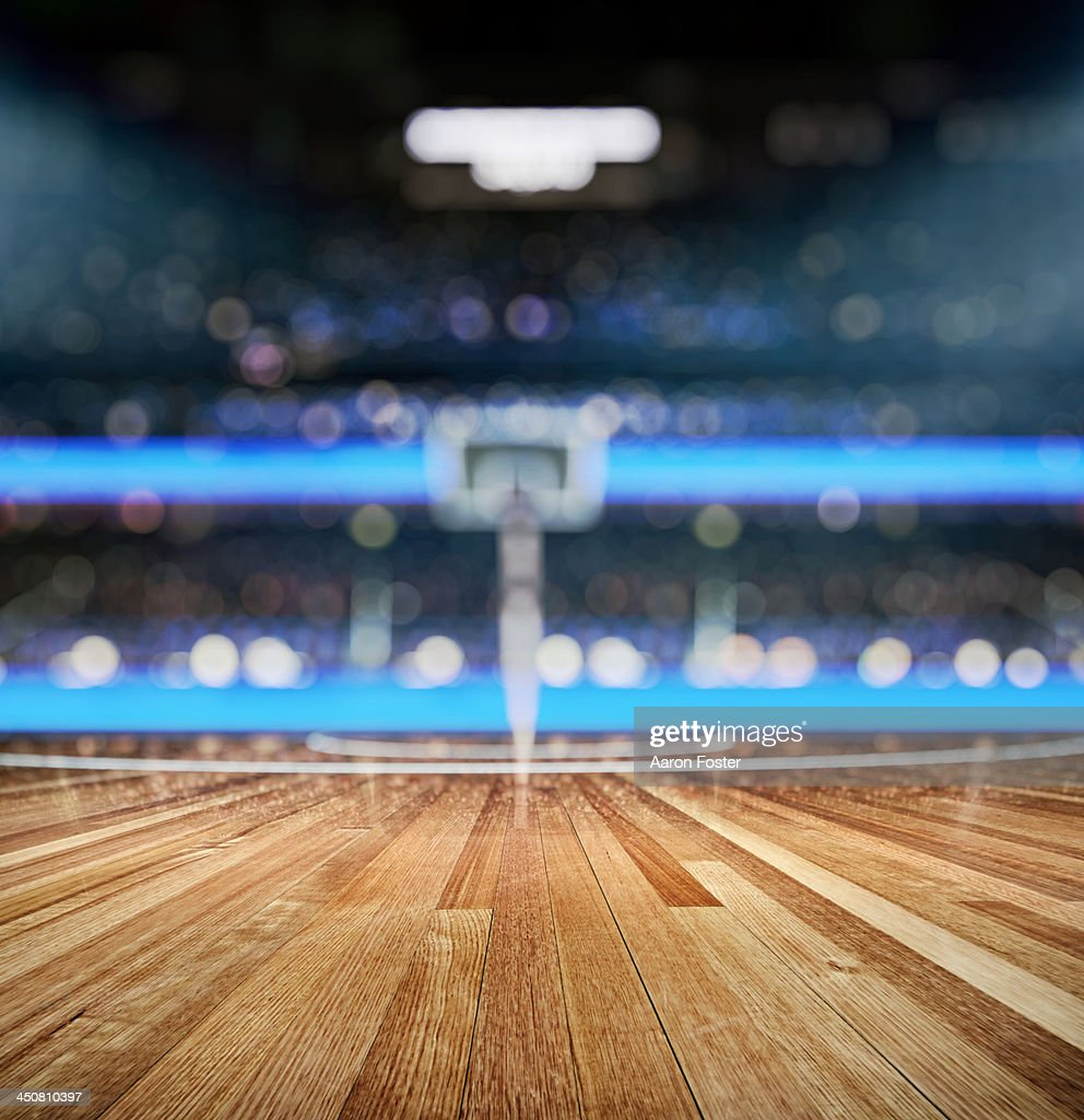 Basket ball court : stock illustration