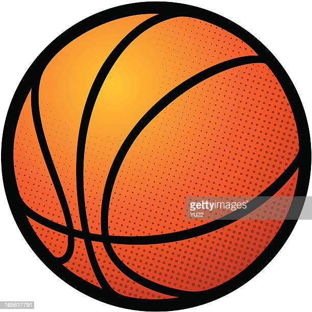 basketball icon - basketball ball stock illustrations, clip art, cartoons, & icons