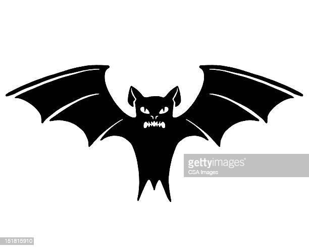 bat - vampire stock illustrations