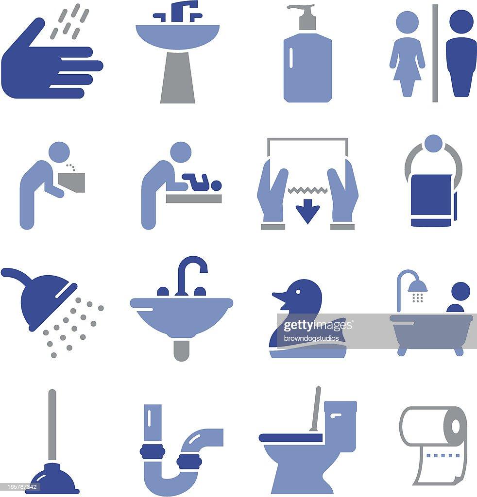 Bathroom Icons - Pro Series