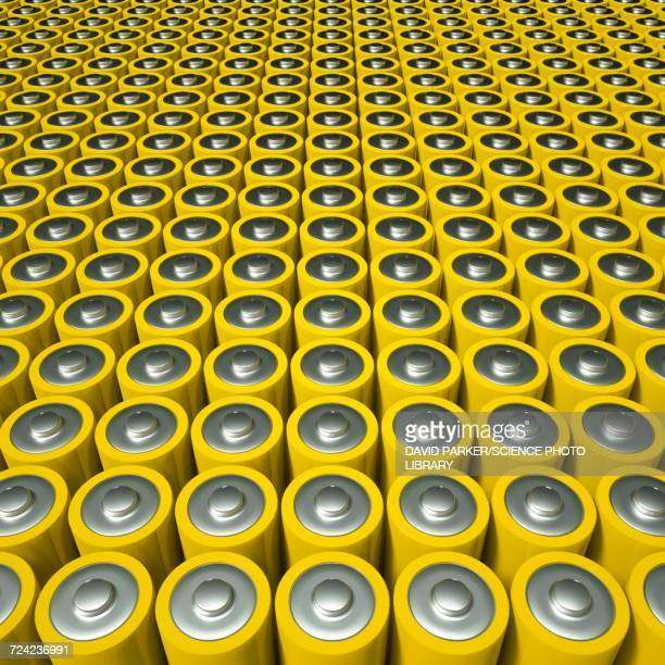 battery or supercapacitor array - {{asset.href}} stock illustrations