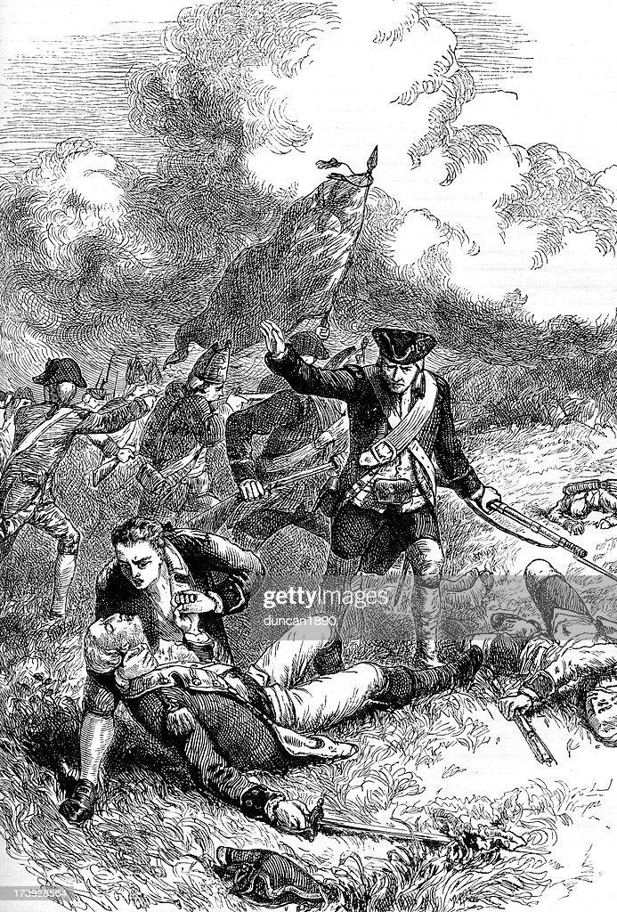 Batalla de Bunker Hill : Ilustración de stock