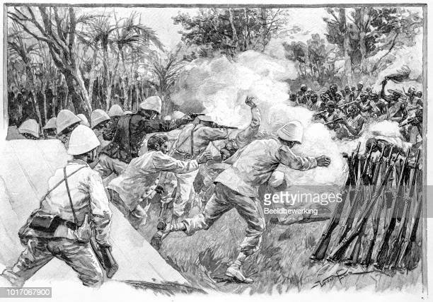 Battle of Dogba  1892 in French west Africa