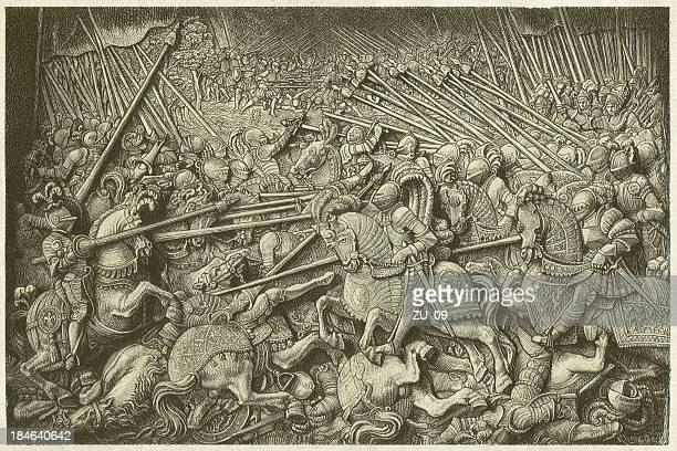 illustrations, cliparts, dessins animés et icônes de bataille de guinegate - guerre