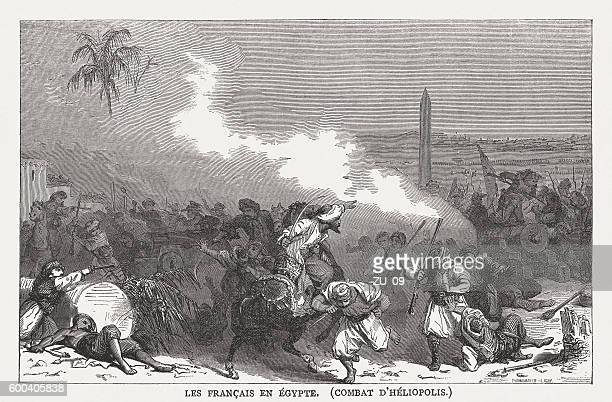 Battle of Heliopolis (1800, French campaign in Egypt),  published 1877