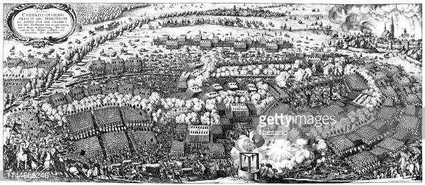 illustrations, cliparts, dessins animés et icônes de bataille de lützen (1632) pendant la guerre de trente ans - protestantisme