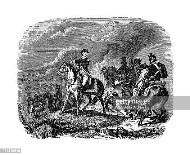 Battle of Princeton - American Revolutionary War | Historic Illustrations