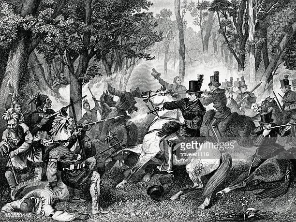 battle of the thames - thames river stock illustrations