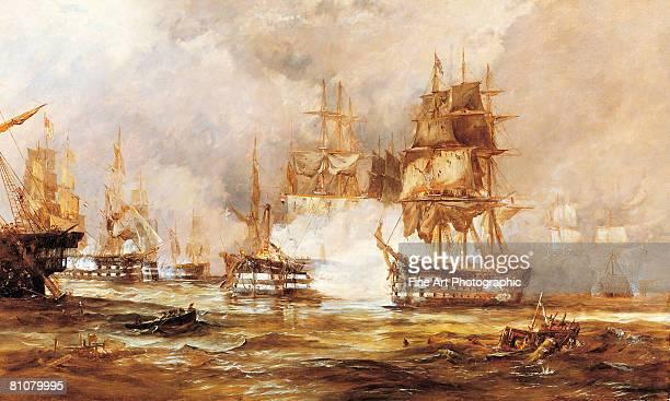 battle of trafalgar - 1800~1809年点のイラスト素材/クリップアート素材/マンガ素材/アイコン素材