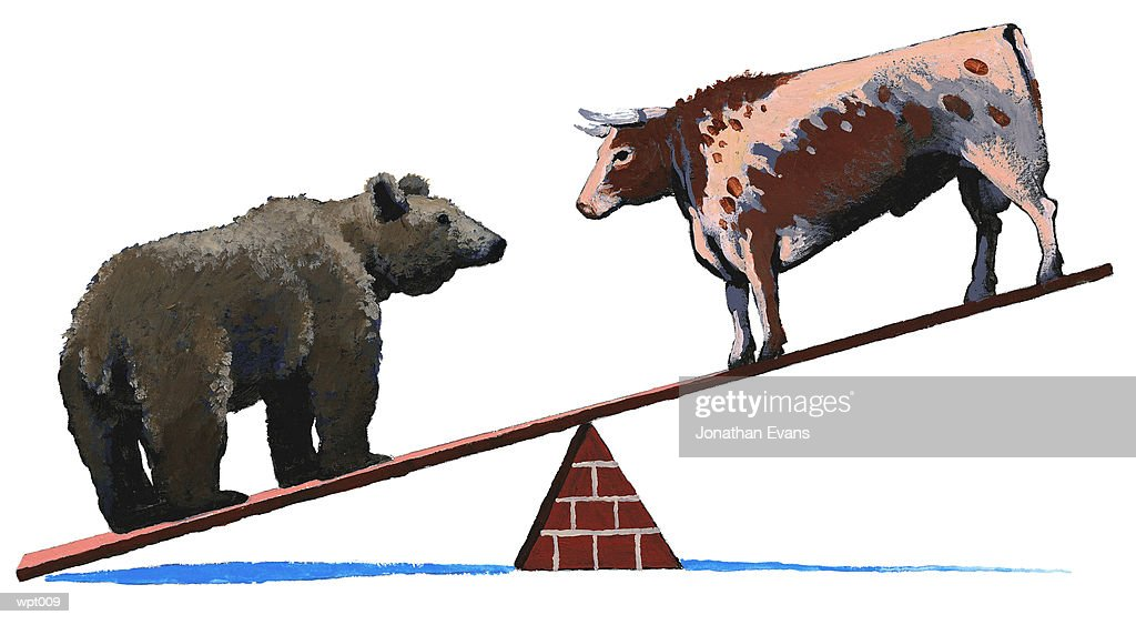 Bear Market : Stockillustraties