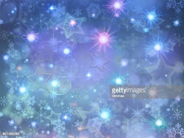beautiful blue holidays background - glühend stock illustrations