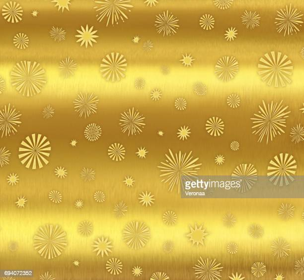 Beautiful gold colored holiday background