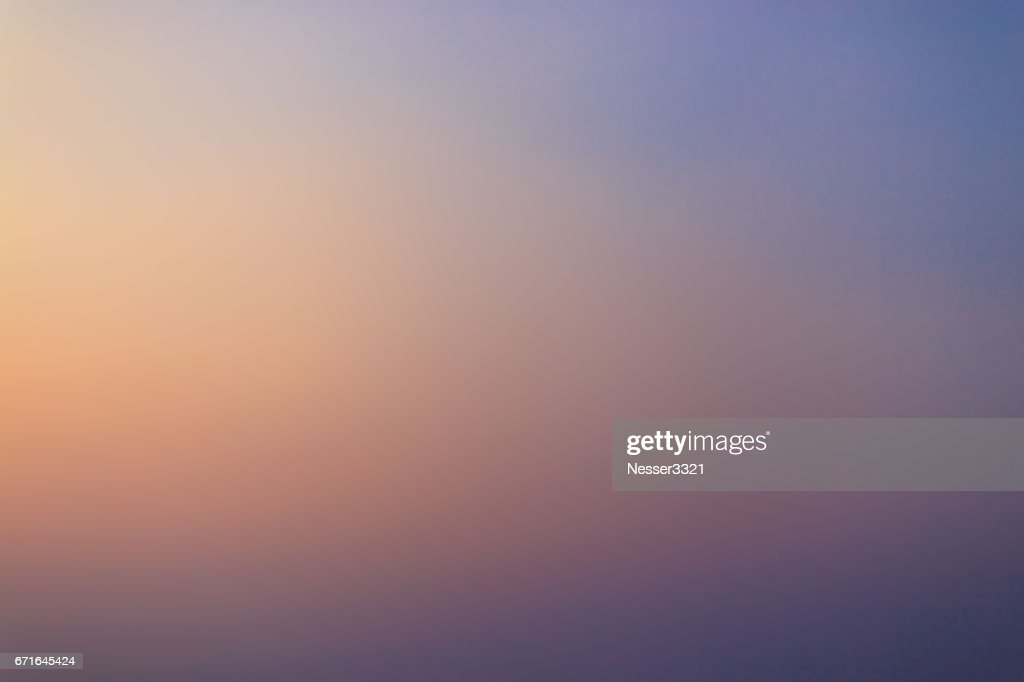 Beautiful Sunset Gradient Stock Illustration Getty Images