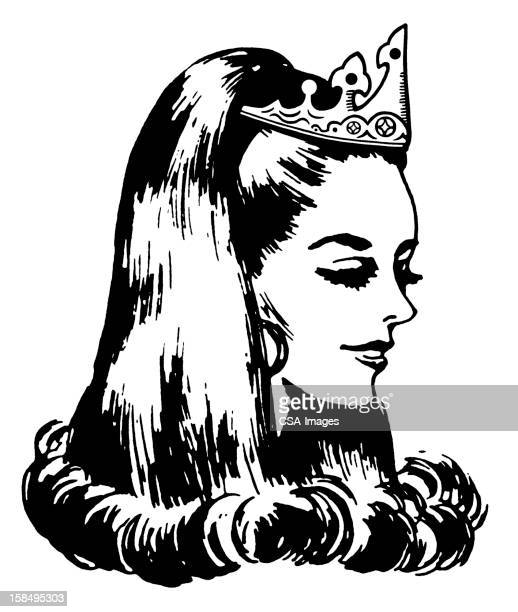 175 Beauty Queen High Res Illustrations Getty Images