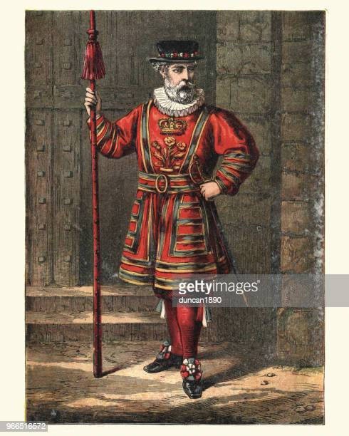 Beefeater, Yeomen Warder of the Tower of London, 19th Century
