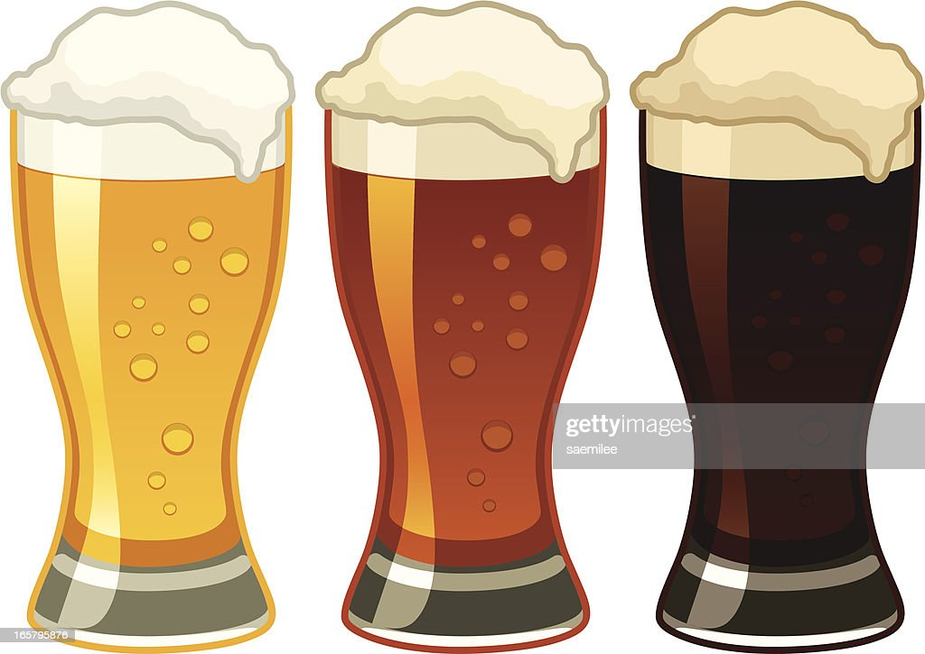 Beers : stock illustration