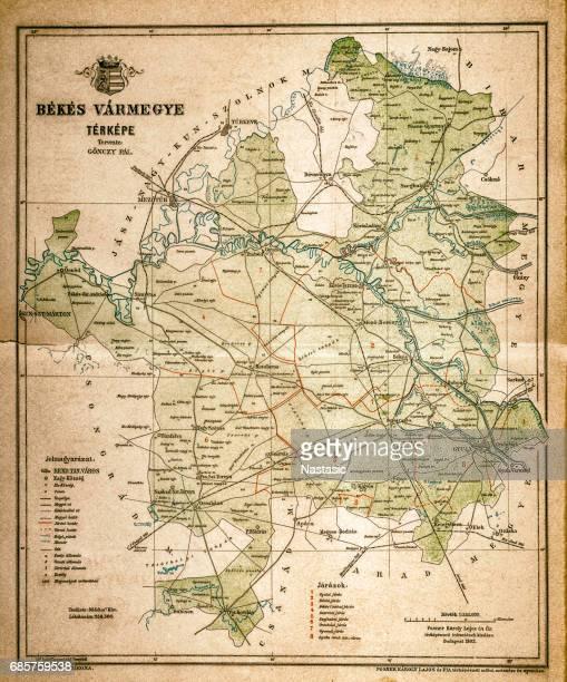 Bekes map
