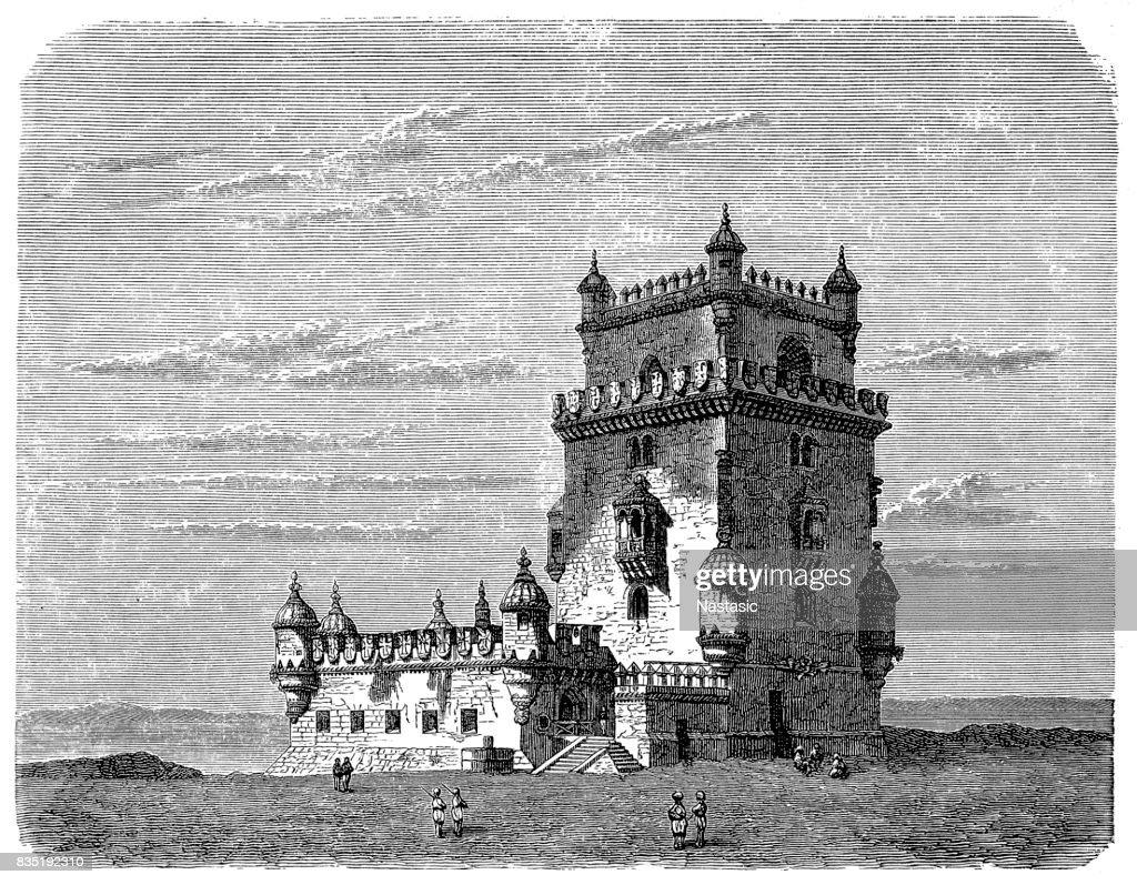 Belem Tower : stock illustration
