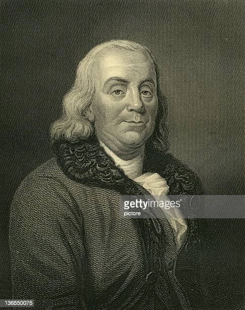 benjamin franklin (xxxl) - benjamin franklin stock illustrations, clip art, cartoons, & icons